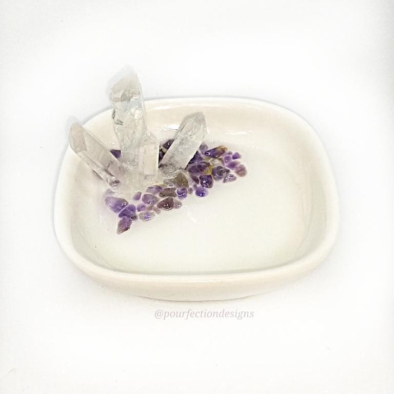 White Porcelain Trinket Dish