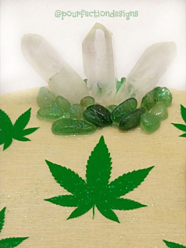 Resin Crystal Trinket Tray Cann