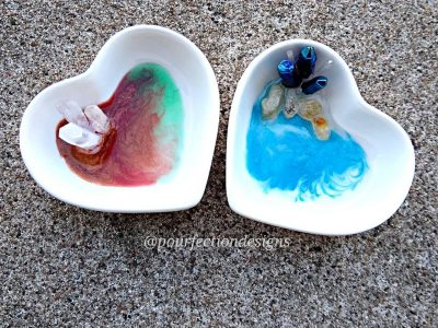 Heart Trinket Dishes