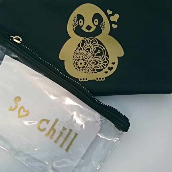So Chill Zipper Bag Set