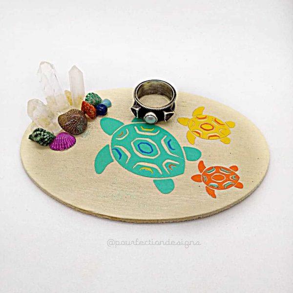 Turtle Trinket Tray