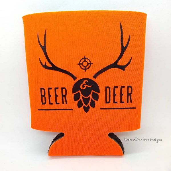 Can Coozies Beer And Deer