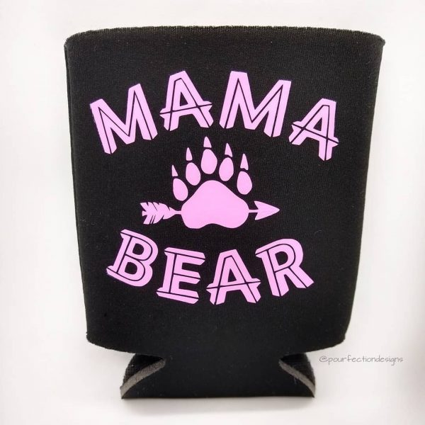 Can Coozies Mama Bear