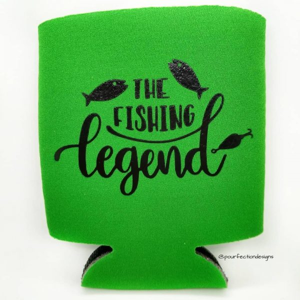 Can Coozies The Fishing Legend