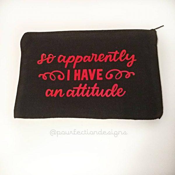 Canvas Bag Apparently Attitude
