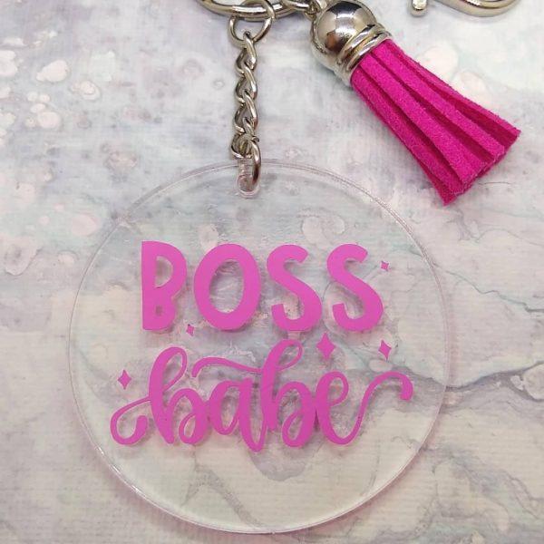 Keychain Boss Babe