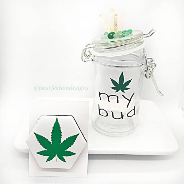 My Bud Stash Jar Magnet Set