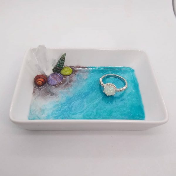 Beautiful Ocean Trinket Dish