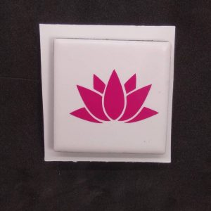 Lotus Tile Magnet
