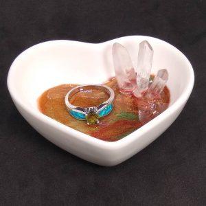 Shimmering Heart Trinket Dish