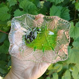 Vintage Crystal Trinket Dish